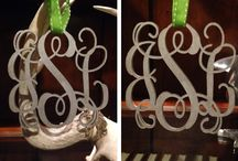Monogram Everything! / by Brittany Tessin