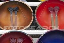 servies met kleur