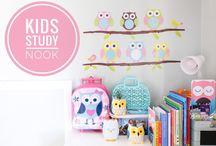 Kids Study Nook
