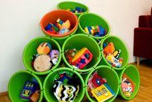 Toy Storage / Organization Ideas & Tips