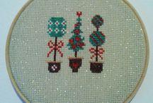 cross stitch....