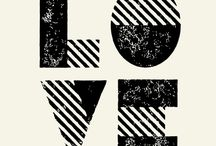 Love Collective / A little bit of type inspiration.