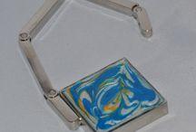 Moje tvoření-Pryskyřice-Šperky ateliér Š / Šperky a jiné věcičky vytvořené pomocí kovových lůžek, barev a pryskyřice