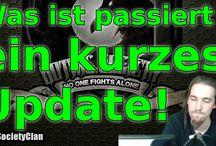 Updates / Updates über den Clan, den YouTube Kanal und mich