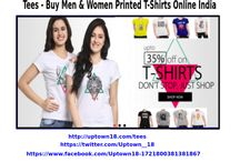Tees - Buy Men & Women / Custom Men & Women T-Shirts with over unlimited design, Printed T-Shirt make for perfect unique gifts. You can gift a online Design T-Shirt to your friend from UpTown18 and he surely like it very much.
