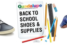 Special Programs & Services / Guadalupe Center devotes time and resources to serving the community with special services such as Back to School Shoes, Thanksgiving in the Park and Holiday Gift Shop.