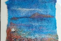 felted pictures