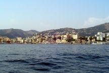 Genova dal mare / Immagini del litorale genovese