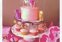 Violet's 5th Birthday / This board is for ideas for Violet's 5th birthday party. The theme will be My Little Pony. I need somewhere to keep all these ideas! LOL! / by Tara Wood