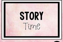 Story Time / Read aloud books and lessons that we love for the primary classroom for Pre K-5th grade students and SLP classes.|Story TIme Books|Read Aloud Books| Library|Elementary Education|SLP|Librarians| #Reading #Library #SLP #ElementaryEducation