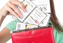 SAVING MONEY! / by Donna Hubbard