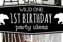 Harlens 1st birthday ideas