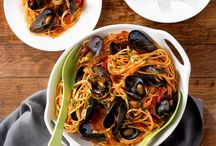 Celebrate Spaghetti / Whether it's #NationalSpaghettiDay or any other day of the year, celebrate the classic pasta shape with classics and totally original spaghetti recipes.