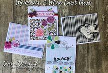 Stampin' Up! Memories & More Card Packs