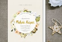 Wreath Invitations // Invitationer med kranse