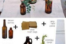 geles ruduose buteliuose