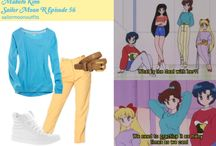 outfit inspirados en Sailor Moon / Looks inspirados en el anime Sailor Moon