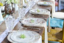 A marriage of vintage china...