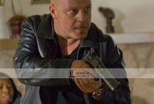 The Shield Movie Jacket / The Shield Movie Star Michael Chiklis Stylish Leather Black Jacket. Only at LeathersJackets.com