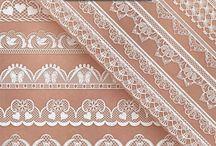 dantel fon - printable lace bordür clipart