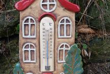 Thermometer töpfern