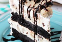 Ice cream cake / Cookie dough ice cream cake