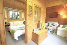 Log cabins, we love them