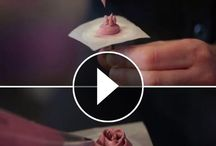 butter cream flowers vid