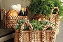 Basket Case / I am a basket case...can never have too many baskets.