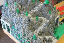 Lego Mountains