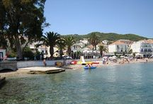 Beaches of Spetses Island, Greece