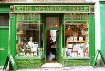 Charming and magical storefronts