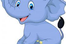 D elefant o Betty boop