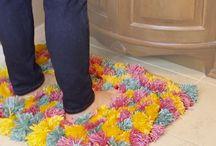 tapis ponpons