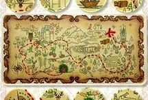 Forest map.