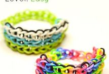 Bracelets Rainbow Loom Easy