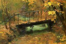 pintura / pintura quadros óleo