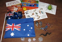 Montessori - Oceania / Ideas, resources  and continent box for studying Australia