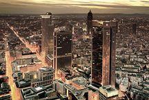 Frankfurt / my hometown / by PiccolaAdriane