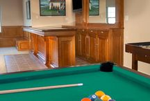 Custom Bars - CBCB / At Carriage Barn Custom Builders we create stunning custom bars and entertainment units. Custom designed cabinets, finishes and details.