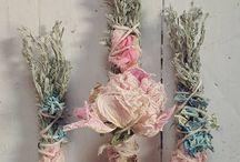 sušené kytice