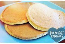 sunne frokost pannekaker