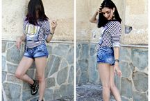 ParsonsxTeenVogue Assignment:My Look:Sporty and laid back / My style revolves around a more chill look.I like to keep things simple and comfortable but not boring.I like to experiment with my look and definitely add a lot of accessories.I love accessories and I think they complete any look!