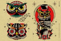 Old school owl