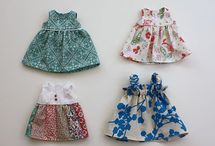 Making doll clothes