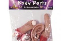 Body Parts / More Body Parts here http://ihorror5.com/product-category/props/body-parts/ / by Chazz Korvex