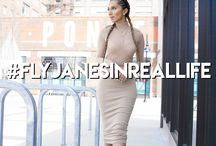 #FlyJanesInRealLife / Fly is a lifestyle! These are pics of real women who embody the brand!