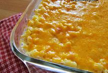 mac and cheese / by Cyn Johnson