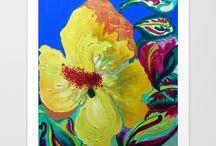Society6 Fine ART Acrylic Paintings / Fine Art Paintings on Society6