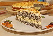 Mohnkuchen mit Paradies Creme